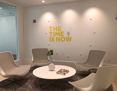 Newlink offices branding