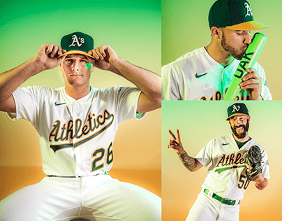 2020 OAKLAND A'S PLAYER PERSONALITIES