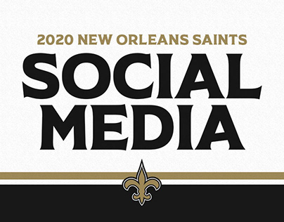 2020 - New Orleans Saints Social Media