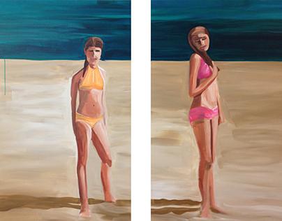 """Girls on the Beach"""