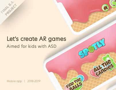 Spotly · AR Games app for kids with ASD