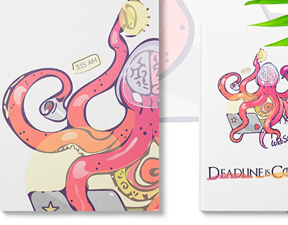 """Character for Corporate Identity """"Octopus"""""""