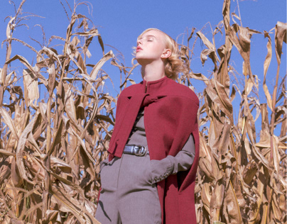 The Girl From The Fields on Basicly Magazine
