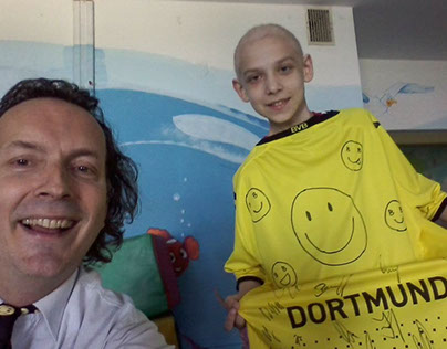 smile from Poland donated by  Robert Lewandowski