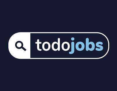 TodoJobs - Identidad y website de marca