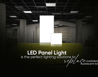 LED PANEL LIGHTS TO MAKE YOUR WORKPLACE PROFESSIONAL!