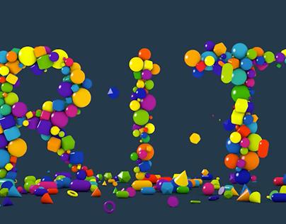 3D Typography Animation