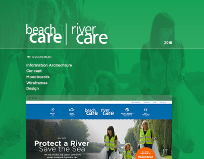 Keep Britain Tidy - River Care - Website Design