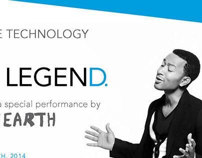 John Legend & Walk Off The Earth | Flyer