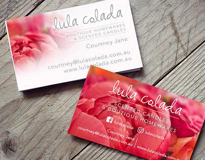 Branding & Website | Lula Colada