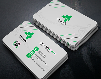 4 color variation Corporate Business Card