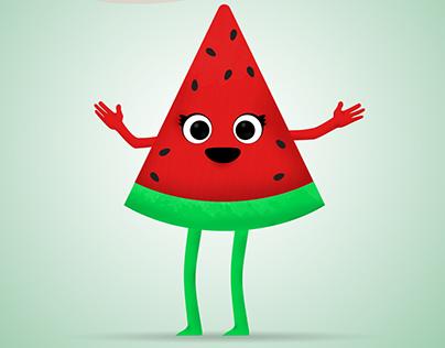 Watermelon for yalda festival