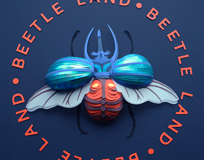 Beetle Land • Paper Craft