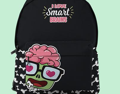 I love Smart Brains - Fashion Design