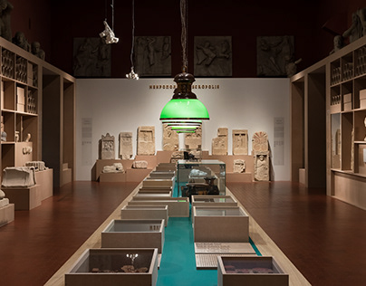 Panticapaeum and Phanagoria exhibition design