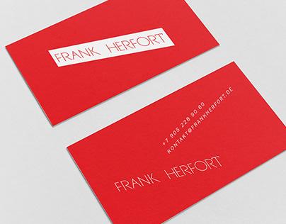 Logo for Frank Herfort Photography