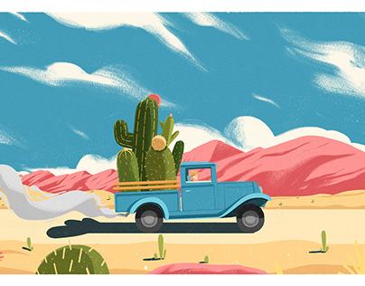 the way cactus