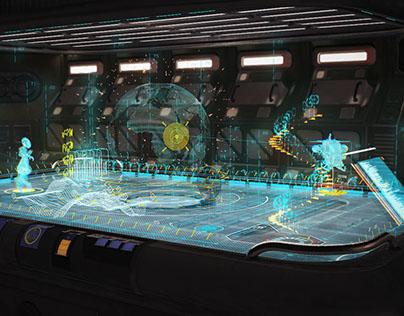 Scifi | UI Motion Design