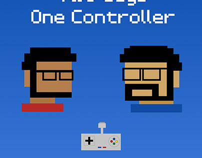 2 Guys 1 Controller: Video Game Podcast Cover Art