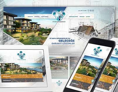 Construction Web Design Pi Construction & Engineering