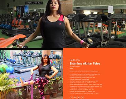 Shamima Akhtar Tulee- Fitness Consultant