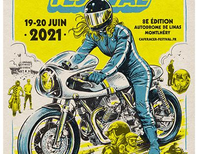 Cafe Racer Festival Poster 2021