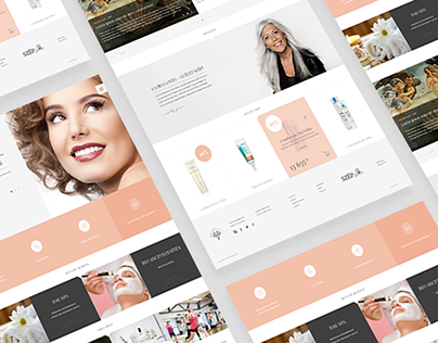 PBV beauty salon UX/UI design CONCEPT