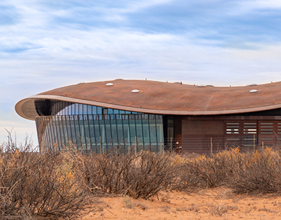 Photographing Spaceport America