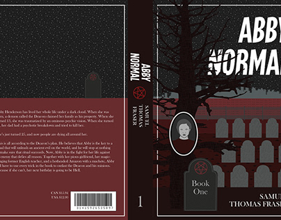 Abby Normal Book Covers