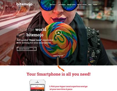 Bitemojo - website redesign