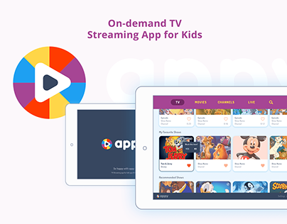 TV Streaming Tablet App for Kids