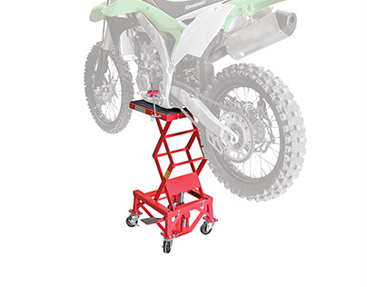 Hydraulic Motorcycle Lift - Product Photography