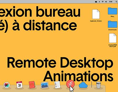 Remote Desktop Animations