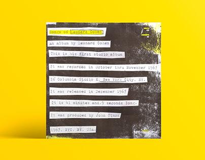 Songs of Leonard Cohen - Album Vinilo