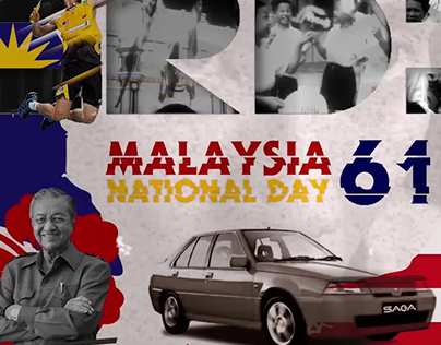 "Malaysia Merdeka 61 2018 ""Happy National day"""