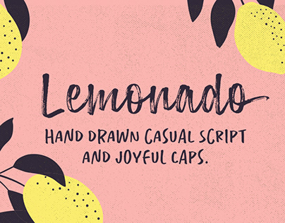 Lemonado typeface
