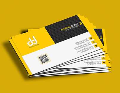 Modern Business Card - Free PSD