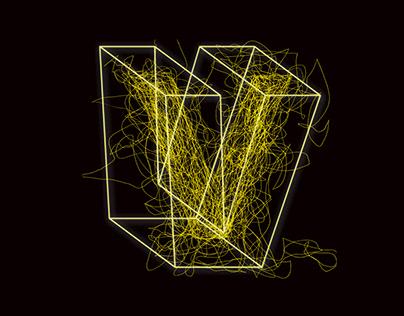 Corporate Design for the exhibition 'Visionen 19'