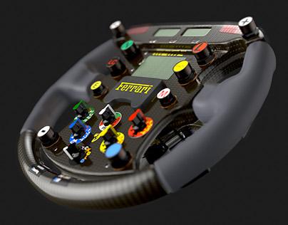 Ferrari F1 2000 Steering Wheel