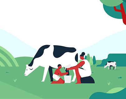 FarmsGate - 2D animated Explainer Video