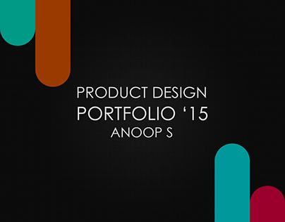 Industrial Design Portfolio '15