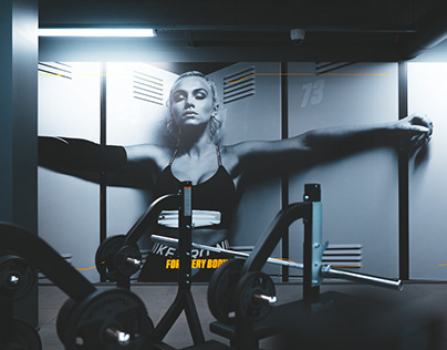 Gym! launch campaign and environmental design