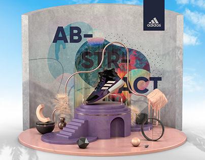 Adidas Abstract Art