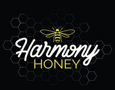 Harmony Honey - Logo & Branding