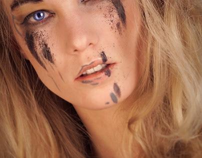 magic eyes and strange make-up