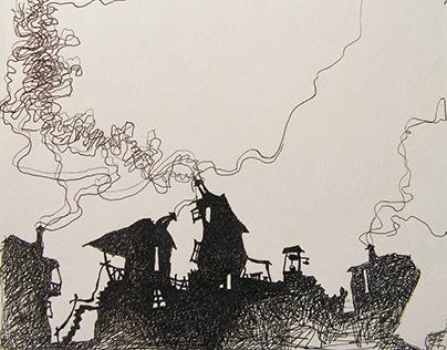 Illustrations, Hand Drawings