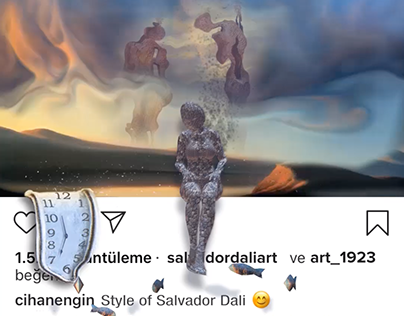 Salvador Dali Style