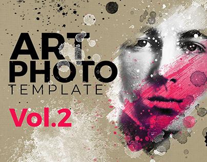 Art Photo / Portrait Template Vol.2