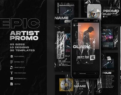 Artist Promo - Social Media Kit