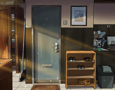Background Digital Coloring Process